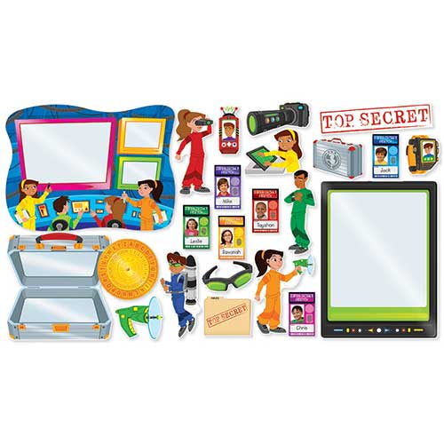 SUPER SECRET AGENTS BULLETIN BOARD