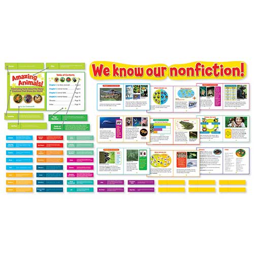 EXPLORING NONFICTION BULLETIN BOARD