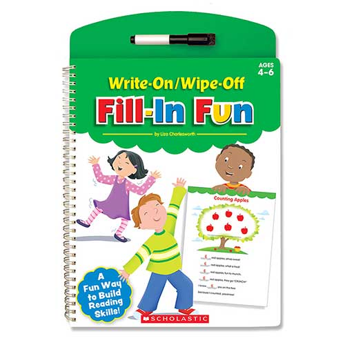WRITE ON WIPE OFF FILL IN FUN