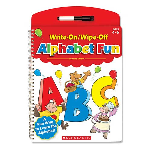WRITE ON WIPE OFF ALPHABET FUN
