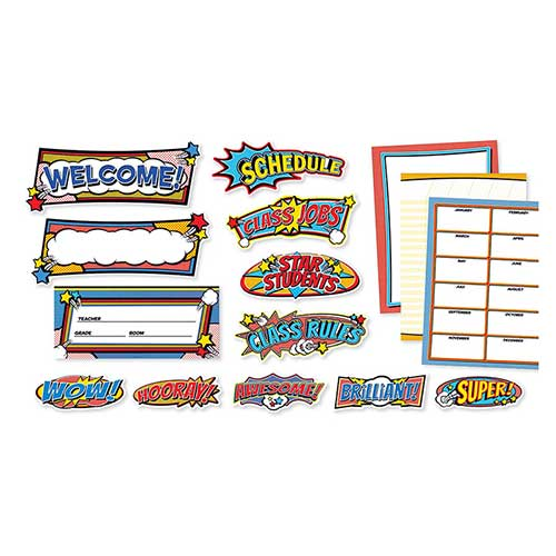 POP ART CLASSROOM BB SET
