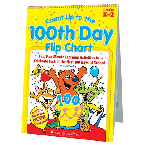 COUNT UP TO THE 100TH DAY FLIP