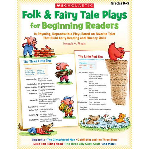 FOLK & FAIRY TALE PLAYS FOR