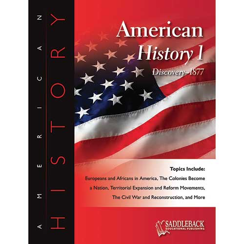 AMERICAN HISTORY BOOK 1 & CD