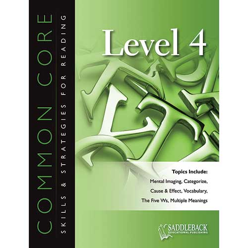 COMMON CORE L4 SKILLS & STRATEGIES