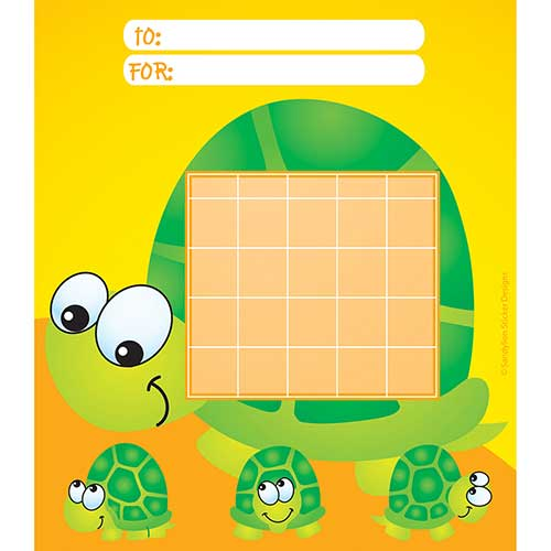 INCENTIVE CHART PAD TURTLES