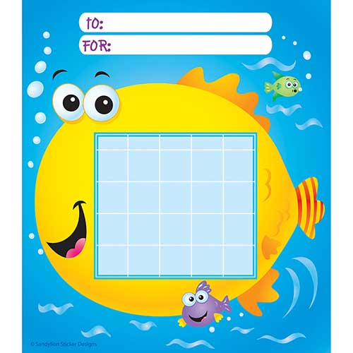 INCENTIVE CHART PAD FISH