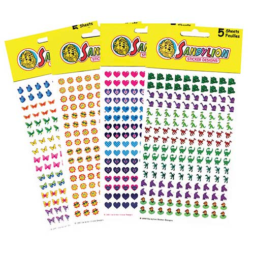 CHART STICKERS VARIETY PACK