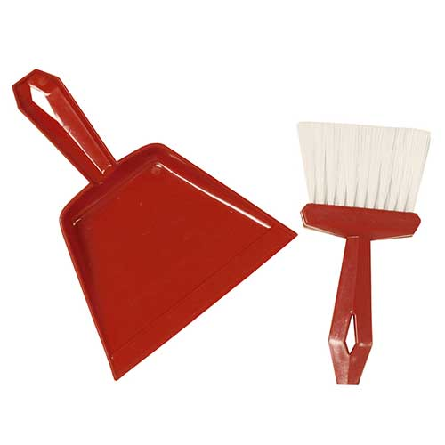 DUST PAN & WHISK BROOM SET COMES IN