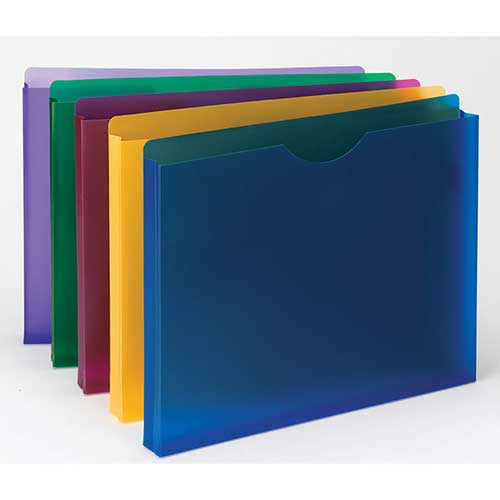 SMEAD POLY EXPANDING FILE POCKETS