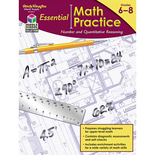 ESSENTL MATH PRACTICE QUANTITATIVE