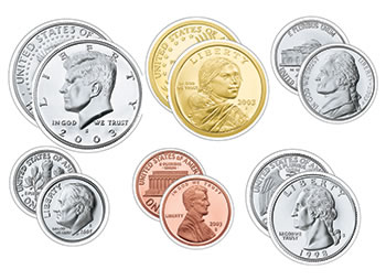 US COINS VARIETY PK CLASSIC