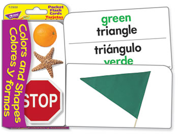 POCKET FLASH CARDS COLORS &