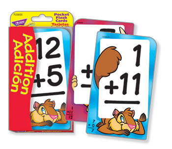 POCKET FLASH CARDS ADDITION ADICION