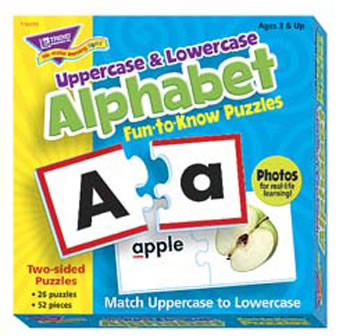 FUN TO KNOW PUZZLES UPPERCASE &