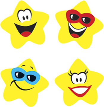 SUPERSHAPES STICKERS STAR BRIGHTS