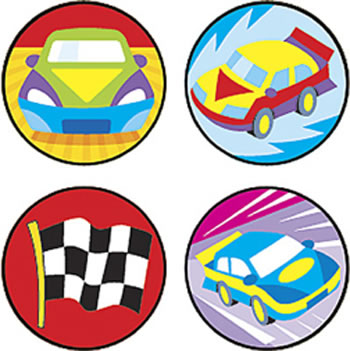 SUPERSPOTS STICKERS FAST CARS