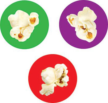 STICKERS POPCORN TIME