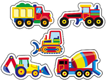 SUPERSHAPES CONSTRUCTION VEHICLES