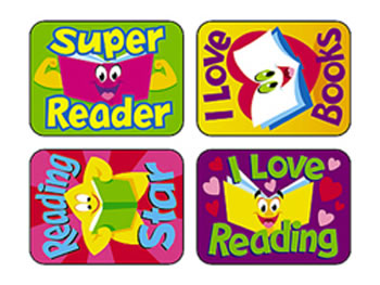 APPLAUSE STICKERS READING 100/PK