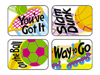 APPLAUSE STICKERS SPORTS REWARDS