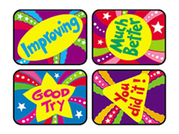APPLAUSE STICKERS ENCOURAGE 100/PK