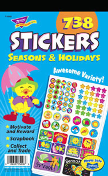 STICKER PAD SEASONS & HOLIDAYS