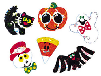 SPARKLE STICKERS HALLOWEEN SPARKLES