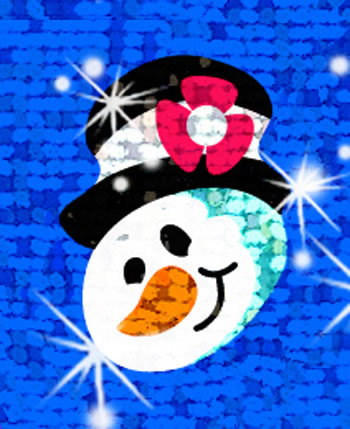 SPARKLE STICKERS SNOW FOLKS