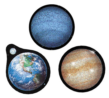 SPARKLE STICKERS SOLAR SYSTEM