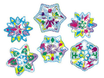 SPARKLE STICKERS WINTER SHIMMER