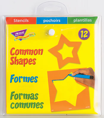 STENCILS COMMON SHAPES