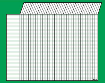 INCENTIVE CHART HORIZONTAL GREEN
