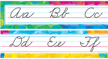 BB SET COLOR SPLASH CURSIVE