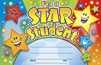 AWARDS IM A STAR STUDENT