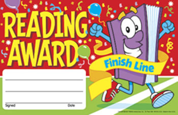 AWARDS READING AWARD FINISH LINE