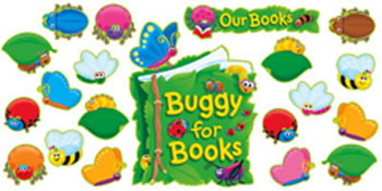 BB SET BUGGY FOR BOOKS
