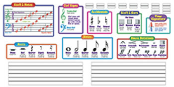 BB SET MUSIC SYMBOLS INCLUDES 2