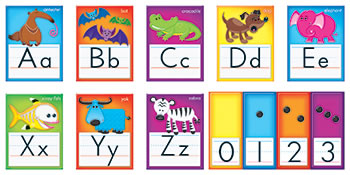 AWESOME ANIMALS ALPHABET CARDS STD