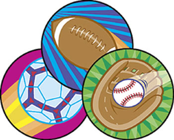 STINKY STICKERS SPECTACULAR SPORTS