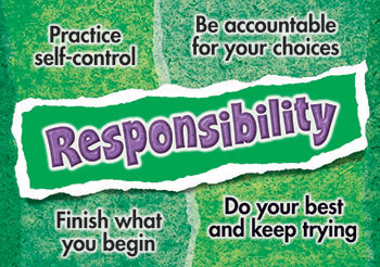 RESPONSIBILITY POSTER