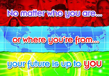 NO MATTER WHO YOU ARE POSTER
