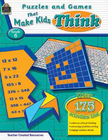 PUZZLES AND GAMES THAT MAKE KIDS