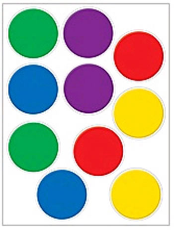 ACCENTS COLORFUL CIRCLES