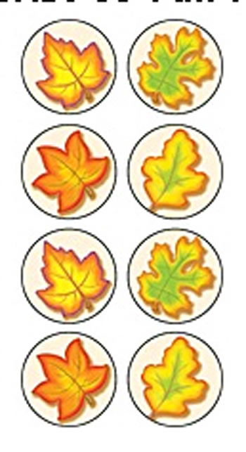 FALL MINI STICKERS 378 STKS