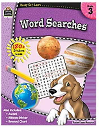 RSL WORD SEARCHES GR 3