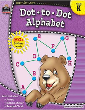 READY SET LEARN DOT A DOT ALPHABET