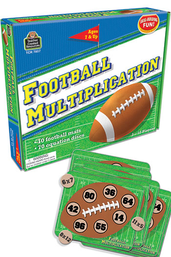 FOOTBALL MULTIPLICATION GAME