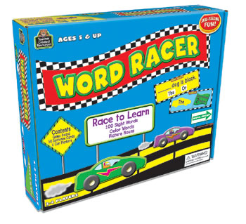 WORD RACER GAME