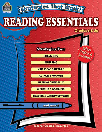 STRATEGIES THAT WORK READING ESSENT
